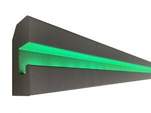 Motivo LED Striscia Decorazione Stucco Per Illuminazione Indiretta XPS OL-37