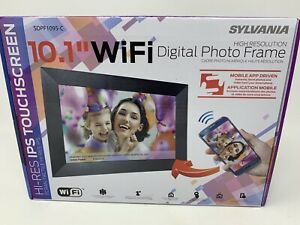 "Sylvania (SDPF1095-C) - 10.1"" WiFi Digital Picture Frame.....NEW!!"