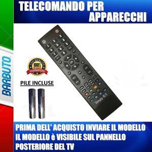 TELECOMANDO TV SCHAUB LORENZ UNIVERSALE - INVIARE MODELLO TV, DECODER, DVD