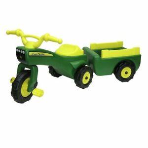 John Deere Trike & Wagon Set NEW