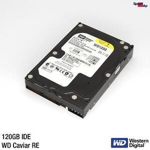 HARD DISK 120GB WESTERN DIGITAL WD CAVIAR RE WD1200SB HDD FESTPLATT IDE PATA ATA