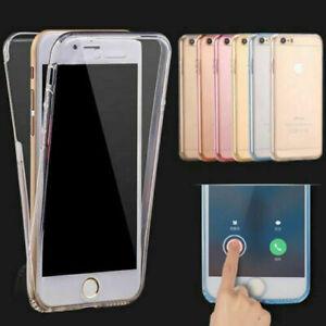 Full Body Case Clear Transparent TPU Gel Silicone For iPhone 12 Mini Pro 11 X XR