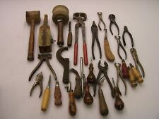 leather tools hand