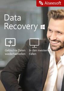 Data Recovery für Windows - Aiseesoft - Datenrettung - Download Version - ESD