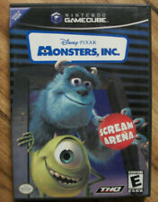Monsters, Inc. Scream Arena Nintendo GameCube COMPLETE