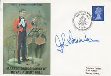 1974 MASSED BANDS CONCERT COMMEMORATIVE COVER SIGNED BY JOHN LAWRENSON