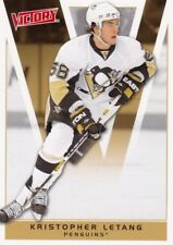KRISTOPHER LETANG, PITTSBURGH PENGUINS, RARE 10-11 UPPER DECK VICTORY NHL CARD.