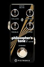 PIGTRONIX PHILOSOPHER'S TONE MICRO GUITAR EFFECTS PEDAL Model PTM Free Strings
