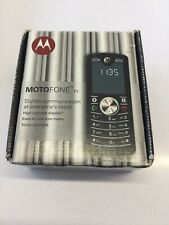 New Motorola MOTOFONE F3 - Black (Unlocked) Mobile Phone