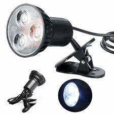 1Pc New Flexible Mini Super Bright 3 LED Swivel Clip-on Book Reading Light Lamp