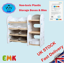 Toys Storage Rack Multifunction Storage Box Shelf Kids Storage Boxes & Bins UK