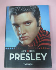 BOOK LIBRO ELVIS PRESLEY Movie Icons BOLSOS español italiano portugués no cd