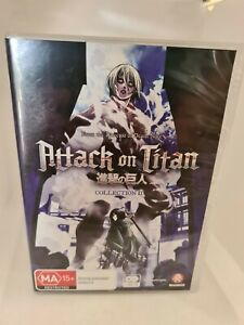 Attack On Titan : Collection 2 LIMITED EDITION SET Anime DVD R4