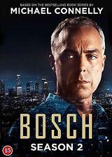 Bosch Complete Series 2 DVD All Episodes Second Season Original R2 Release