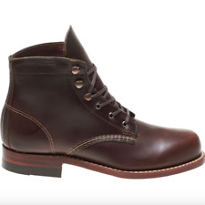 WOLVERINE - Women's Heritage 1000 Mile Leather Lace Up Boot Brown - 9 NIB