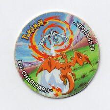 #06 DRACAUFEU VS #249 LUGIA TAZO POKEMON TAZOS LEAGUE MATUTANO 2002 Réf:T1340