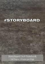 Storyboard 16:9 Notebook 160 Pages 1 Frame per Page: Ideal journal to sketch and