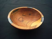 "X Small African Olive Wood Ethnic Salad Nut Bowl - 6"" diam. Fairtrade Craft"
