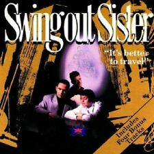 SWING OUT SISTER - IT'S BETTER TO TRAVEL  CD  13 TRACKS INTERNATIONAL POP  NEU
