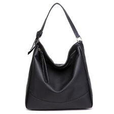 Ladies Designer Soft PU Leather Hobo Handbag Satchel Shoulder Tote Bag