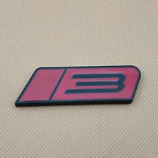 Metal Black Amp Red Roush Stage 3 Auto Badge Trunk Fender Emblem 3d Sticker Decal Fits Focus