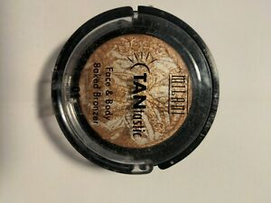 Milani Tantastic Face & Body Baked Bronzer #01 Fantastic In Gold + refill.
