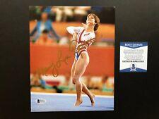 Mary Lou Retton Hot! signed autographed US Olympic 8x10 photo Beckett BAS coa