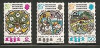 Fiji Scott # 324-6 South Pacific Commission MNH