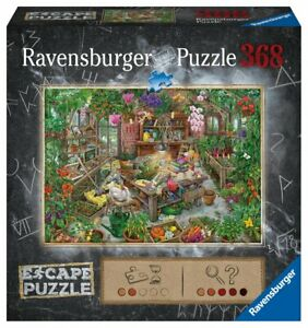 The Greenhouse - 368 pc Escape Room Puzzle by Ravensburger