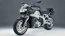 """Silver BMW K1200R Motorcycle - 42"""" x 24"""" LARGE WALL POSTER PRINT NEW."""