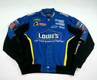 Chase Authentics Drivers Line Jimmie Johnson 48 LOWE'S Racing Jacket Sz XL