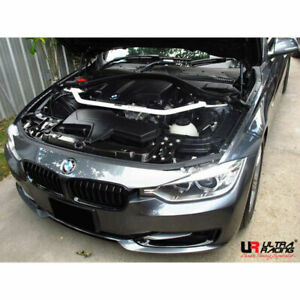 Ultra Racing 2-Point Front Strut Bar for BMW F30 2.0 '12 2.8 '11 (UR-TW2-1991)