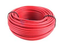 Audiopipe 50 Feet 14 Gauge Red Primary Remote Wire Car Auto Power Cable