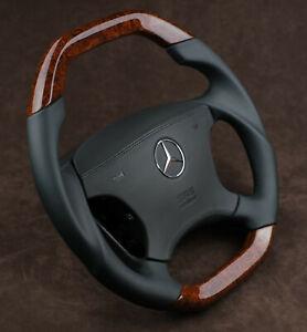 OEM Mercedes W220 W215 cl600 cl500 s600 s500 s430 custom wood steering wheel