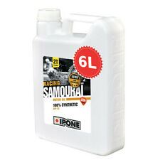 Huile IPONE SAMOURAI FRAISE Bidon 6 LITRES 6L 2T 100% synthèse 2 Temps NEUF