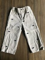 Janie and Jack Khakis Airplanes Size 18-24 Months