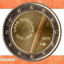 Sondermünzen Finnland: 2 Euro Münze 2014 Tapiovaara Sondermünze Gedenkmünze