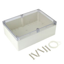 """10.4""""x7.2""""x3.74""""Abs Junction Box Universal Enclosure w Pc Cover"""