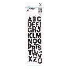 Xcut Xpress Nesting Die Sets -  Alphabet : XCU503153