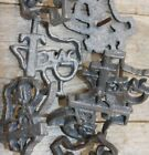 """Texas Clavos 2 1/2"""" Cast Iron, Volume Priced Texas Country Design Nail Heads"""