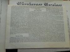 Antiquarische Zeitungen (1800-1899)