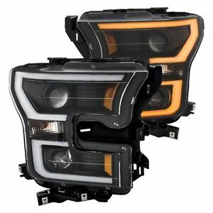 Anzo 111357 Projector Plank Style Switchback Head Light Lamp for Ford F-150