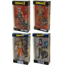 McFarlane Toys Action Figures -Borderlands S3 -SET OF 4 (Krieg, Lilith, Pyscho+)