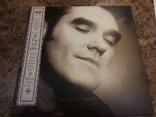 Morrissey Greatest Hits LP Record European Pressing OBI 2 LP Set Low Print