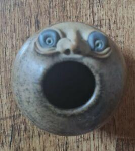 Vintage Muggins pottery Pen/Brush Pot 1973
