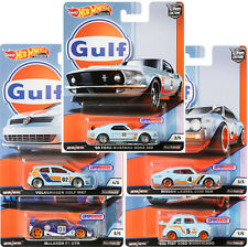 HOT WHEELS 2019 CAR CULTURE GULF RACING - SET OF 5 - FPY86-956G - PRE ORDER