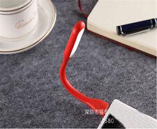 NEW Fashion USB LED Light Flexible Mini Lamp for Computer Laptop Reading Red D