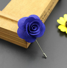 Handmade Rose Flower Boutonniere​ Brooch Lapel Pin Accessories For Men's Suit