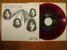 RED VINYL PINK FLOYD JAPAN 7INCH ONE OF THESE DAYS