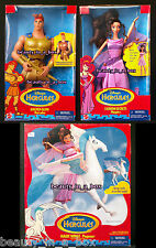 Golden Glow Hercules Fashion Secrets Megara Magic Wings Pegasus Doll Disney NRFB